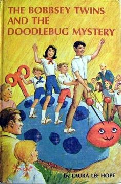 Bobbsey Twins mystery books were my favorite books in elementary school!  First mysteries I ever read.