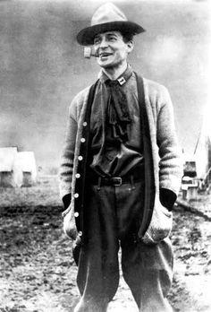 Cpt. Douglas MacArthur during the Veracruz Expedition, 1914.