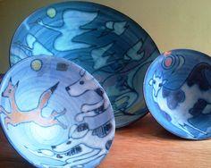 Tessa Fuchs ceramic bowls @2000 - 2004