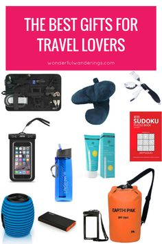 "Looking for a gift for that one friend who seems to be out of the country more often than in it? Or for that one family member that sighs on every trip: ""I wish I bought that thing to take with me""? Seek no more! I've put together a gift list with what I feel are some of the best gifts for travel lovers."