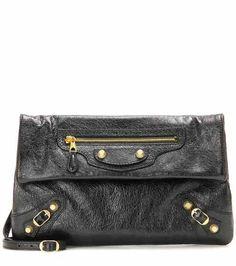 Giant 12 Envelope leather clutch   Balenciaga