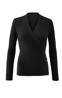 21b82a8c6196 The Ballet Sweater is flowy and feminine in an all-new sweater shape for  cabi