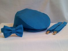 c0d242612a846 Teal Newsboy Cap Suspenders Bow Tie Set Teal by dolldressedup Teal Flats