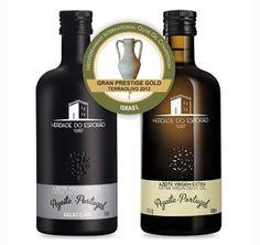 "Twee olijfoliën van Esporão winnen de prestigieuze ""Gran Prestige Gold"" medals, de Extra Virgem en de Special Selection"