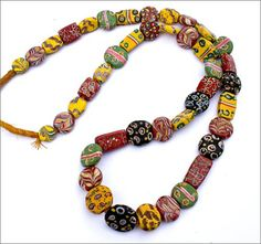 Antique Beads, African Trade Beads - TimeStreams.com