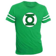The Big Bang Theory Unisex Green Lantern T-Shirt