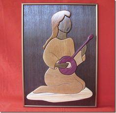 A Intarsia é a arte de Marchetaria de Lourenço Rômulo - Vila do Artesão
