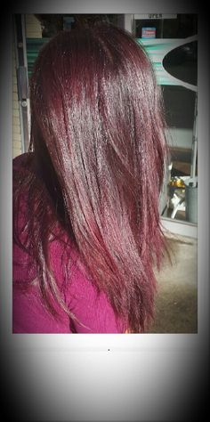 Violet red Hair by Maria