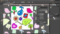 Converting artwork to patterns using Adobe Ideas and Adobe Illustrator CS6