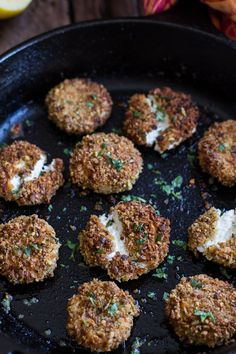 Pistachio Crusted Fried Goat Cheese | halfbakedharvest.com
