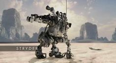 Titanfall - The Stryder Mech suit