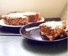 Banoffie -Banana Coconut Cream- Pie  recipe AIP, vegan, paleo allergen free diet  dates shredded coconut