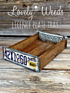 13 Creative Uses For Your Old License Plates