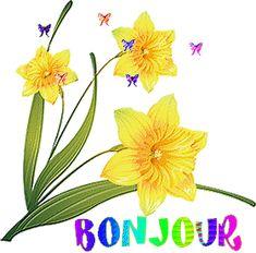 Bonjour Gif, Happy Friendship Day, Good Morning Gif, Bellisima, Tweety, Gifs, Anime, Good Morning Wishes, Flowers