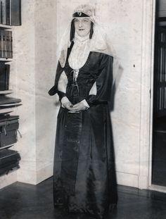 "romanovsonelastdance: ""Press photo of Grand Duchess Maria Pavlovna the Younger in Georgian dress (supersized). """