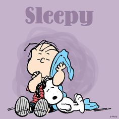 I'm sleepy in the morning.