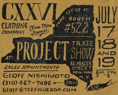 Dribbble - Project NY by Jon Contino Hand Drawn Cards, Hand Drawn Type, Hand Drawn Lettering, Vintage Lettering, Lettering Design, Logo Design, Modern Typography, Typography Letters, Typography Poster