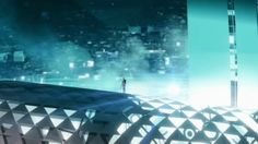 The Walt Disney Company Limited I composited few scenes (the ones in color) for the intro of the first episode of TRON UPRISING. Tron Uprising, Light Cycle, Tron Legacy, Walt Disney Company, Storyboard, Louvre, Animation, Building, Artwork