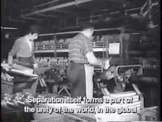 La Société du spectacle. By Guy Debord.      A Société du spectacle (Society of the Spectacle) is a 1973 film by Situationist Guy Debord based on the 1967 book of the same title. It was Debord's first feature-length film.  (1of 9 videos)