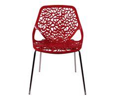 formafina.com.br - Informações sobre Cadeira Verona Vermelha