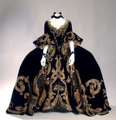 Costume designed by Adrian for the movie Marie Antoinette (1938) starring Norma Shearer. From The Museum at FIT