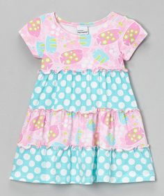Take a look at this Pink Bubble Fish Twirly Diva Dress - Infant, Toddler & Girls by Flap Happy on #zulily today!