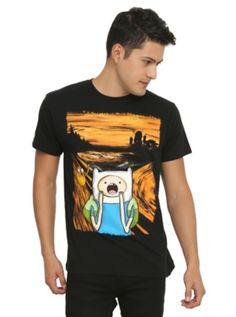 Adventure Time Scream T-Shirt at Hot Topic