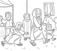 Jesus Risen Empty Tomb of Jesus Coloring pages for kids ...