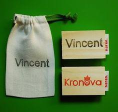 #stamp #stempel #zelfgemaakt #handcarvedstamp #handgesnedenstempel #zakjemetstempel #stempelzakje #naamstempel #namestamp #vincent #kronova