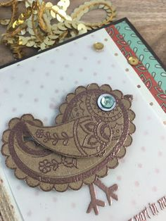 Stampin with Mel: Paisleys &Posies - I thank you for your part in my…