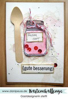 Karte von Gastdesignerin steffi für die Kartenchallenge #011 von www.danipeuss.de #dpkartenchallenge #danipeuss