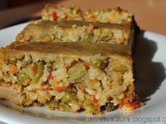 Drob de legume, poza 1 Vegetable Recipes, Vegetarian Recipes, Romanian Food, Spanakopita, Quiche, Parfait, Biscuits, Vegan, Recipes