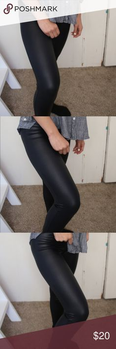 Faux leather leggings Faux leather leggings from Guess for sale G by Guess Pants Leggings
