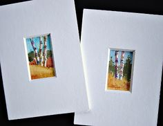 In and Out of The Studio: Very Small Birch Trees Small items got xmas
