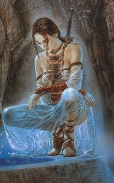 .Artwork by Luis Royo