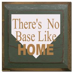 Cute baseball home decor!