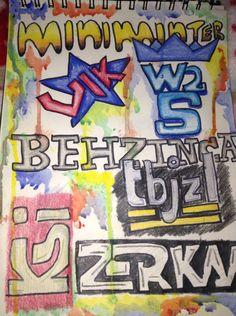 Fan art of all the sidemen logos XD
