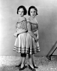 Conjoined twins Daisy & Violet Hilton