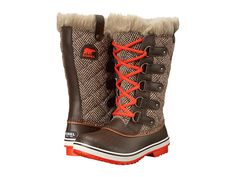 Keep your feet warm in comfortable, durable style courtesy of the Sorel 'Tofino' Cate (Cordovan Chevron) Cold Weather Boots $160, available here: rstyle.me/~7nZ7R
