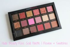 Huda Beauty Rose Gold Palette   Review & Swatches     This sold out beauty came back into stock and I couldn't resist snapping it up and telling you my opinion.  The 18 shadow Huda Beauty Rose GoldEdition palette is a warm toned glitter and matte shadow available from Cult Beautyand retails at 56 (ouch)  A pricey palette but if you work it out it is around 3-4 a shadow which is a bargain! It's made up of pretty glitter shades a few shimmers and pigmented mattes. I love the names they're…