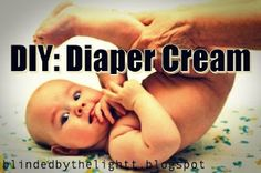 Blinded by the Light: Homemade Diaper Cream. I think I'll give it a try but skip the vegetable glycerin, calendula oil, and fragrance. Baby Skin Care, Skin Care Tips, Blinded By The Light, Diy Diapers, Diaper Rash, Beauty Recipe, Anti Aging Skin Care, Organic Skin Care, Homemade