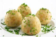 Valisera Hüsli - Knödelwoche (15. - 21. Jänner 2014) #silvrettamontafon #delicious #kulinarik Baked Potato, Potato Salad, Potatoes, Baking, Vegetables, Ethnic Recipes, Food, Prefab Cottages, Fresh