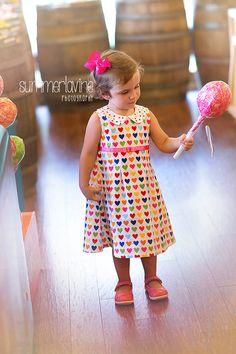 SWEET harten jurk met peter pan kraag-beschikbaar door valeriya