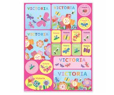 #Flowers #Personalized #Stickers