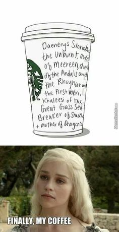 Game of Thrones funny.