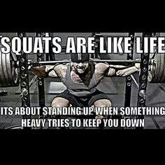 I love squats!