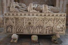 Mosteiro de Alcobaça - Portugal | Monastery of Alcobaça | Túmulo de D. Inês de Castro | Tomb of Inês de Castro