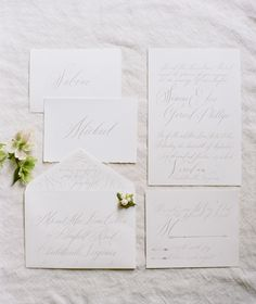 Elegant Green, White, and Mauve Wedding Ideas