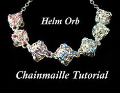 Chainmaille Tutorial for Helm Orb PDF Instructions Only. $7.00, via Etsy.