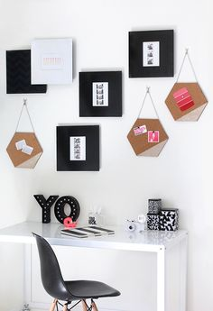 MY DIY | Hexagon Cork Memo Board | I Spy DIY | Bloglovin